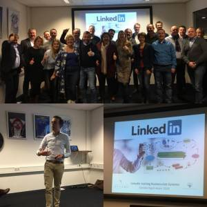 Linkedin training Businessclub Dynamo social selling